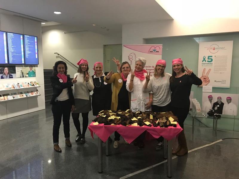 Ballesteros colabora con la donación de cabello para la fabricación de pelucas oncológicas