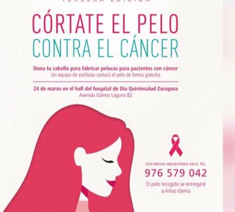 Córtate el pelo contra el cáncer